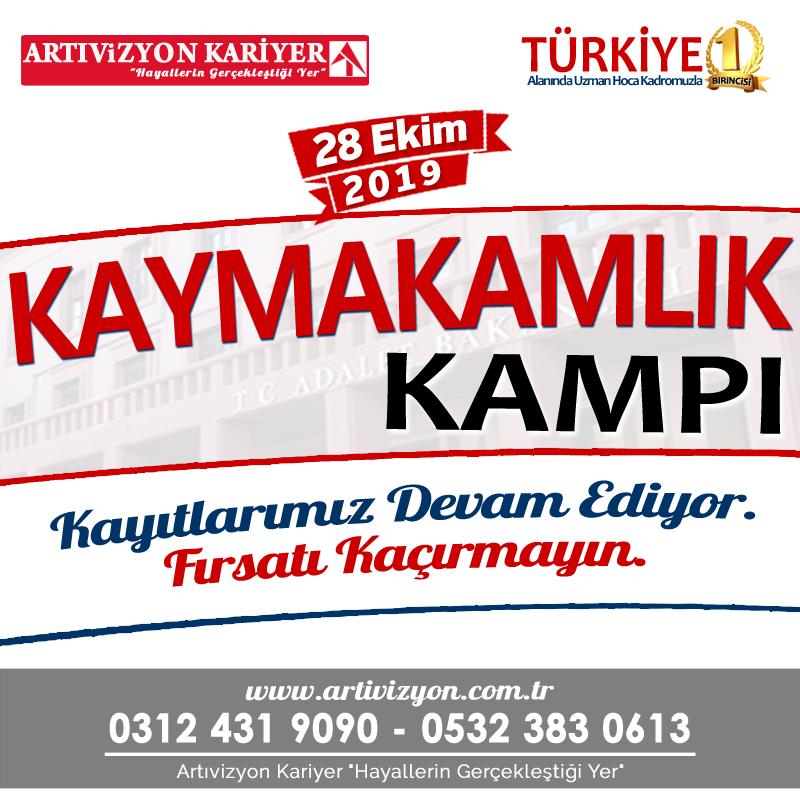 Kaymakamlik Kursu Ankara L Artivizyon Kariyer